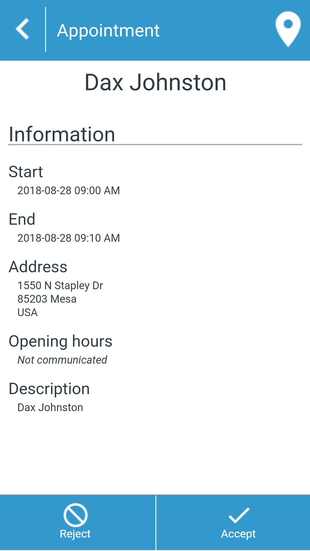 Configuring the TourSolver mobile app   TourSolver
